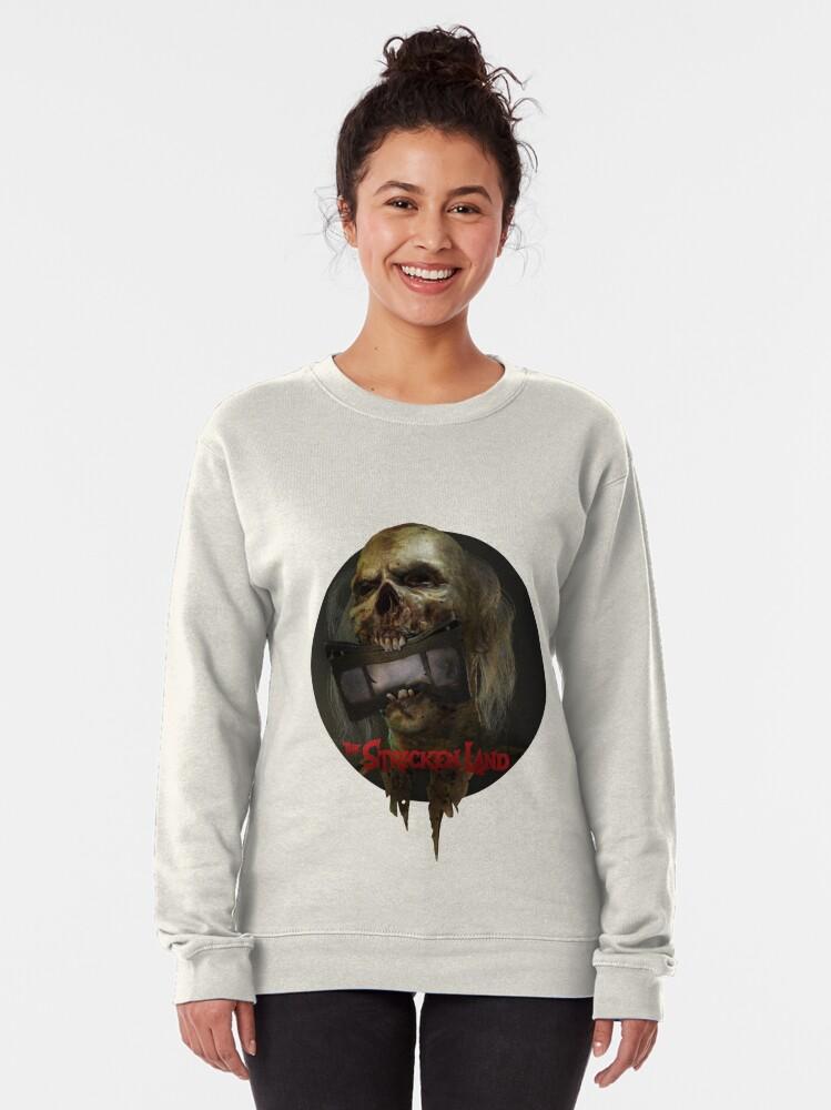 Alternate view of The Stricken Land alternative website icon Pullover Sweatshirt