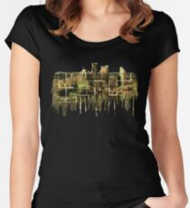 Melting Pittsburgh Women's Fitted Scoop T-Shirt