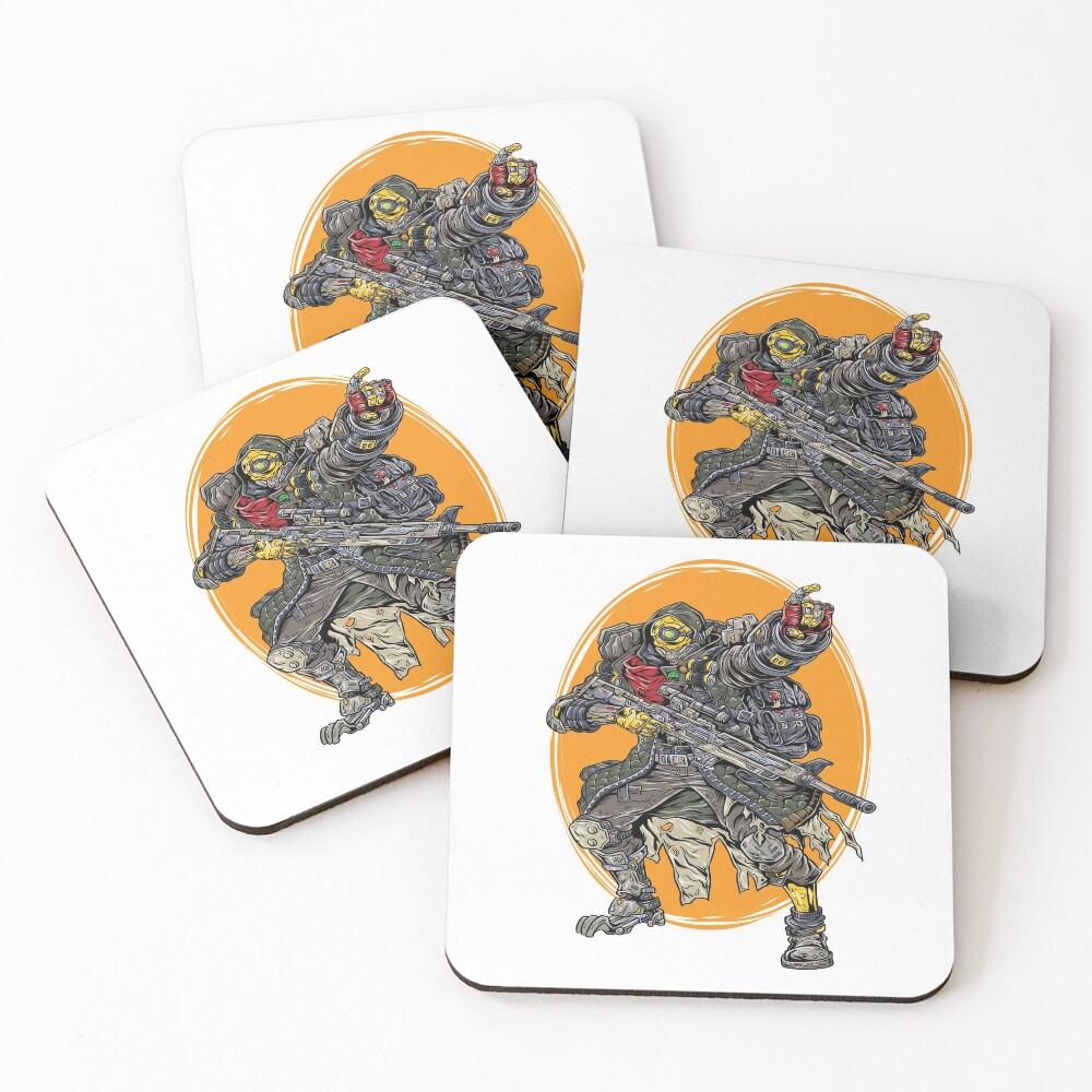 FL4K The Beastmaster Vault Symbol Borderlands 3 Rakk Attack! Coasters (Set of 4)