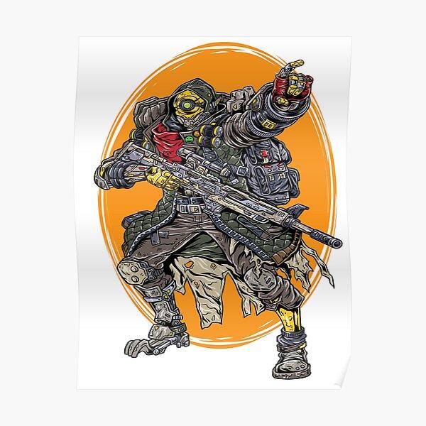 FL4K The Beastmaster Vault Symbol Borderlands 3 Rakk Attack! Poster