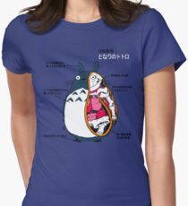 Anatomy of a neighbor Women's Fitted T-Shirt