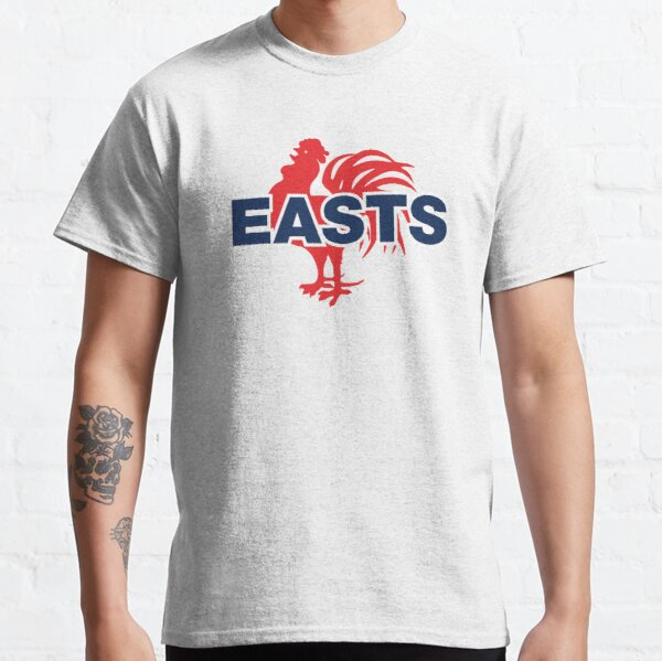 EASTS - Sydney Roosters NRL - Red Cockerel on White Classic T-Shirt