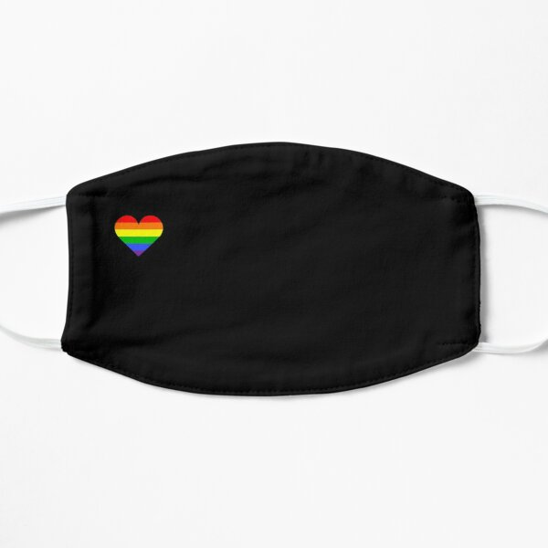 Little Rainbow Heart Mask