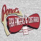 Fish Fingers & Custard by JordanDesigning