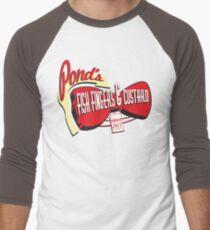 Fish Fingers & Custard Men's Baseball ¾ T-Shirt