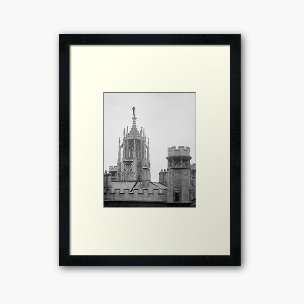 On the New Tower: Dawn Framed Art Print