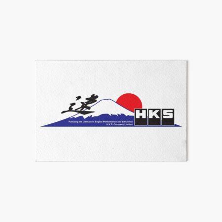 HKS Fujiyama Art Board Print