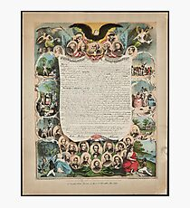Smith Rosenthal Proclamation emancipation Photographic Print