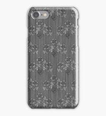 Victorian Floral Wallpaper Pattern iPhone Case/Skin