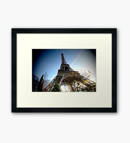 Wide angle Eiffel Framed Print