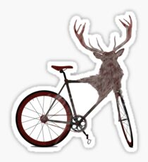 Stag Bike Sticker