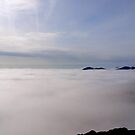 Pavey Ark above the mist by mikebov