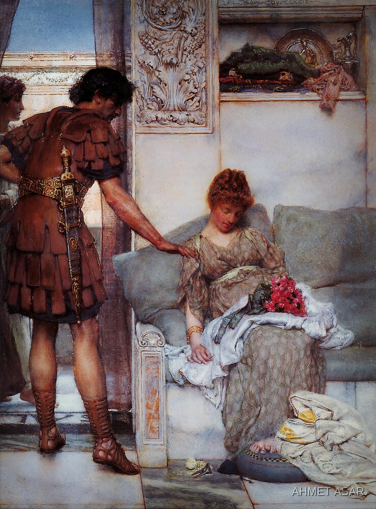 A Silent Greeting by Sir Lawrence Alma Tadema by MotionAge Media