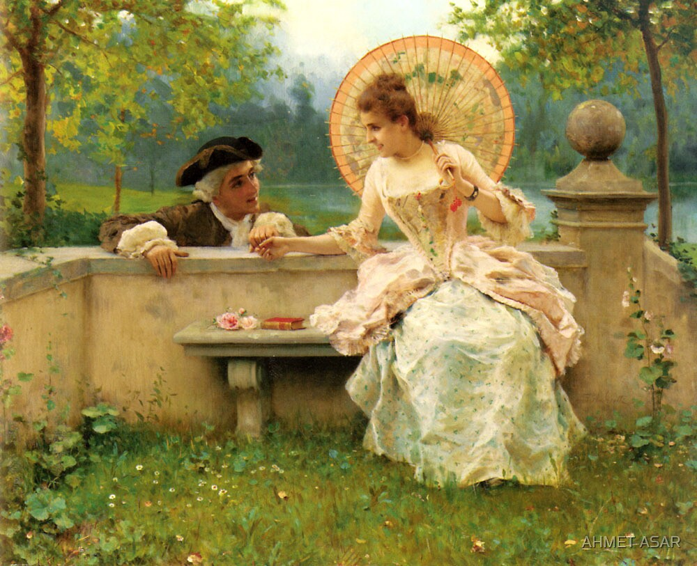 a tender moment in the garden146fa by MotionAge Media