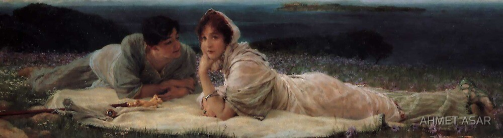 A World of Their Own by Sir Lawrence Alma Tadema by MotionAge Media