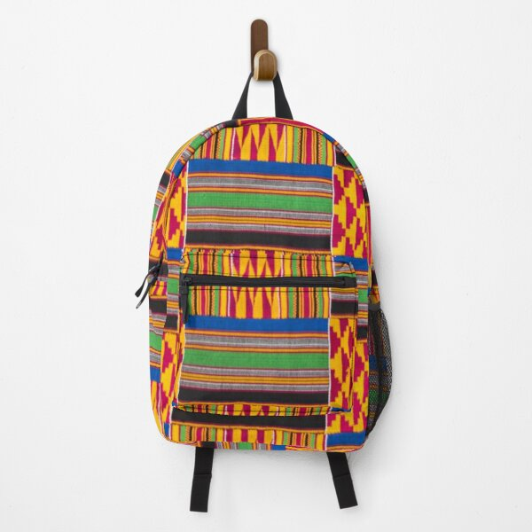 African Patchwork Cloth Backpack