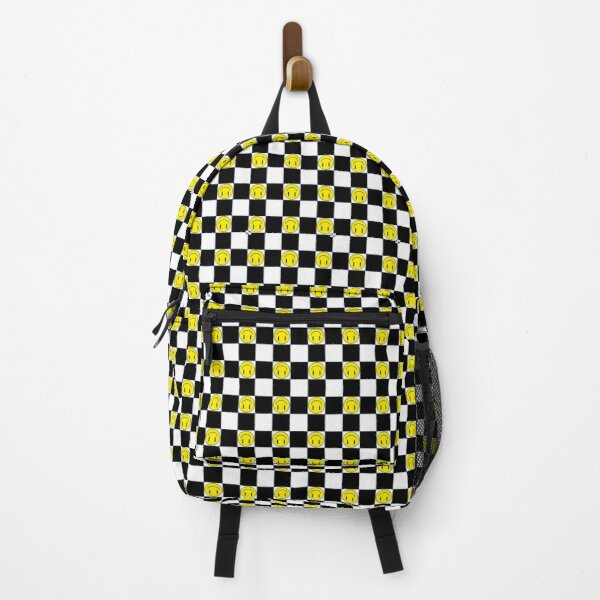 smile checkerboard Backpack