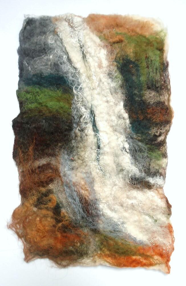 Lancashire Waterfall by Susan Duffey
