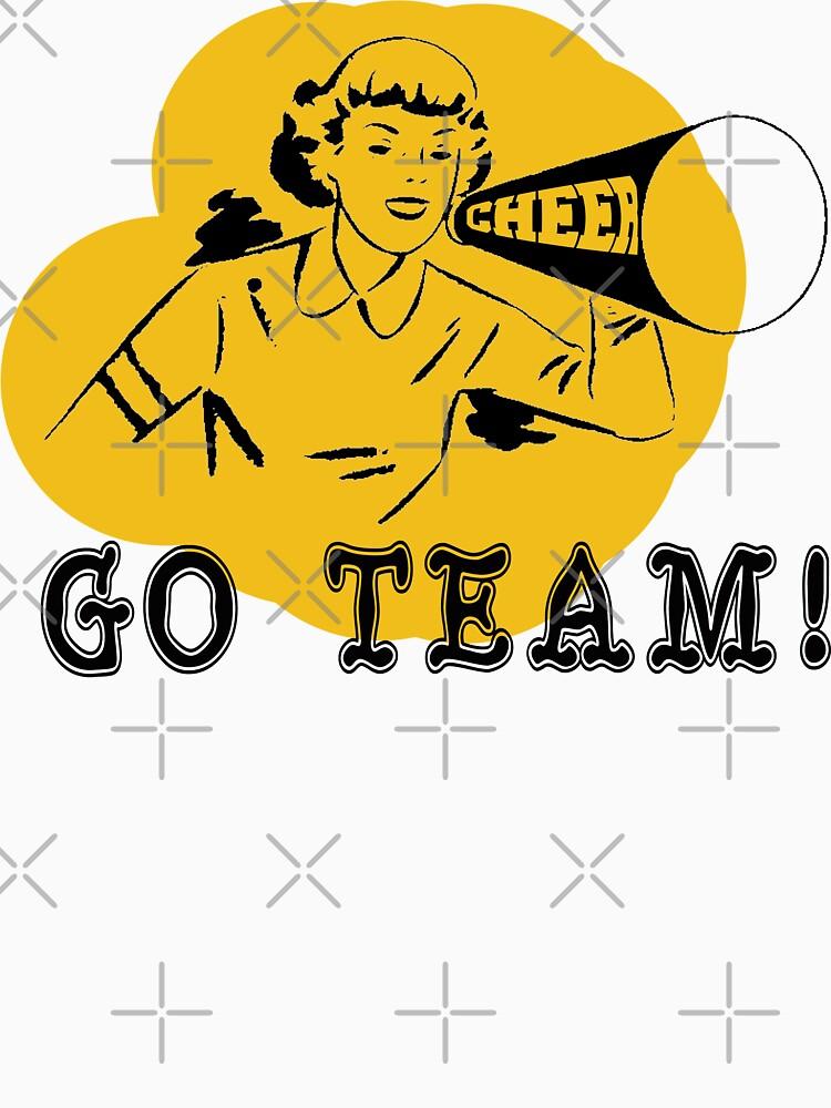 Cheer Go Team! by SportsT-Shirts