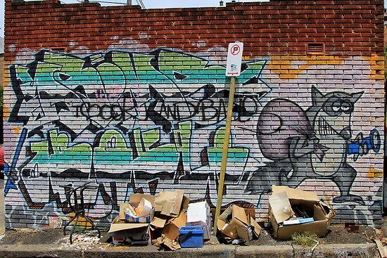 Street Art: global edition # 54 by fenjay