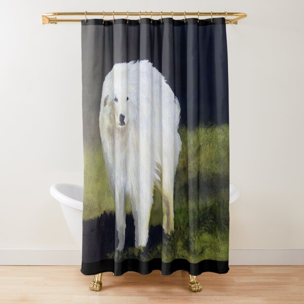 The Great Pyrenees Shower Curtain