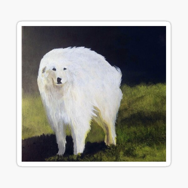 The Great Pyrenees Sticker
