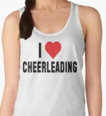 I Love Cheerleading Women's Tank Top