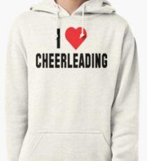 I Love Cheerleading Pullover Hoodie