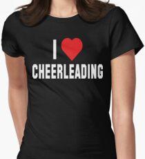 I Love Cheerleading Dark T-Shirt