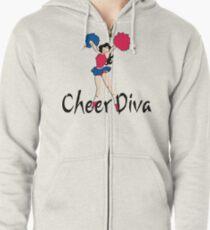 Cheer Diva Zipped Hoodie
