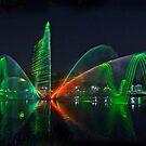 Laser Light Show #1 by Peter Hammer