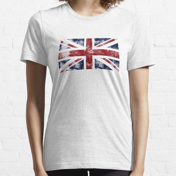 UK Flag - worn Essential T-Shirt