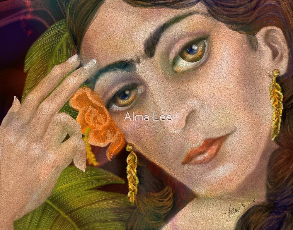 Frida Kahlo: When I dream by Alma Lee
