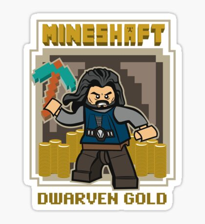 Mineshaft Sticker