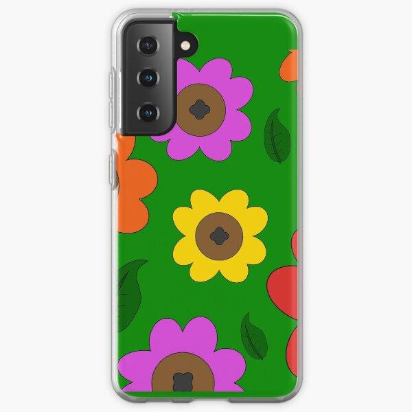 Sunny Day Flower Field Samsung Galaxy Soft Case