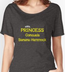 Princess Consuela Banana-Hammock - Yellow Women's Relaxed Fit T-Shirt