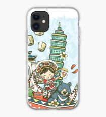 Lovely Taiwan cultural illustration  iPhone Case