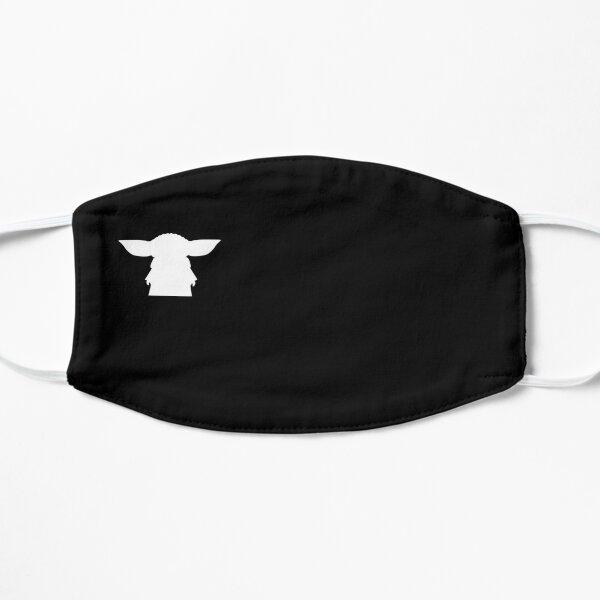 Alien Silhouette Flat Mask