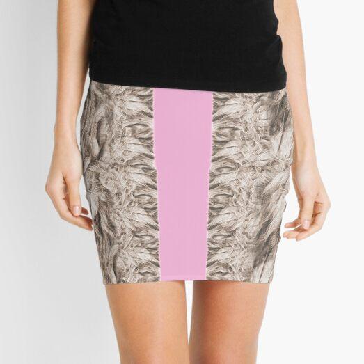 LIONS PRINT Mini Skirt