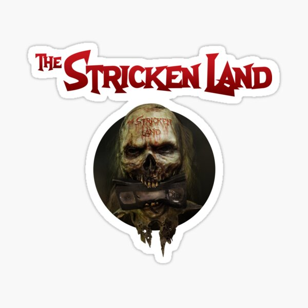 The Stricken Land official website logo Sticker