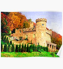Berkeley Castle Poster
