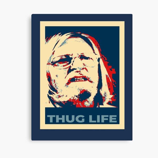 Thug Life Raoult Hope - tribute - tshirt - Covid-19 - coronavirus - Professeur - Impression sur toile