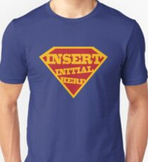 Initial Here  T-Shirt
