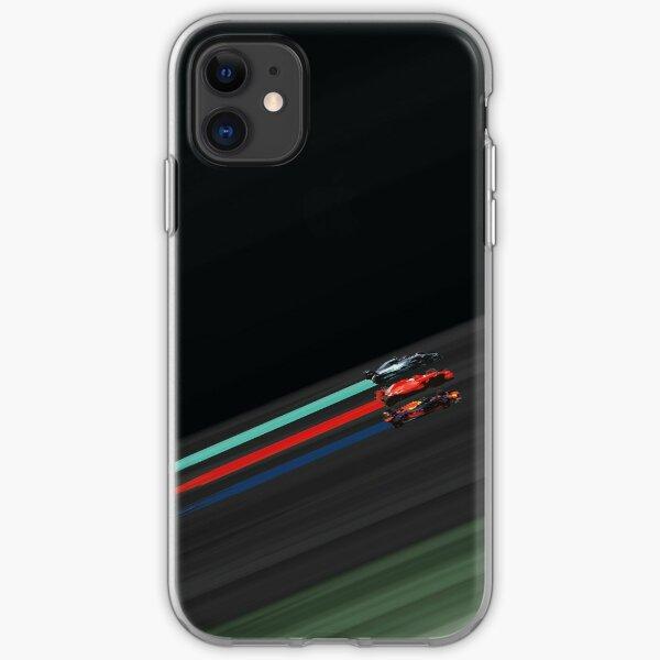 F1 Abstract Art Battle of the hybrid era iPhone Soft Case