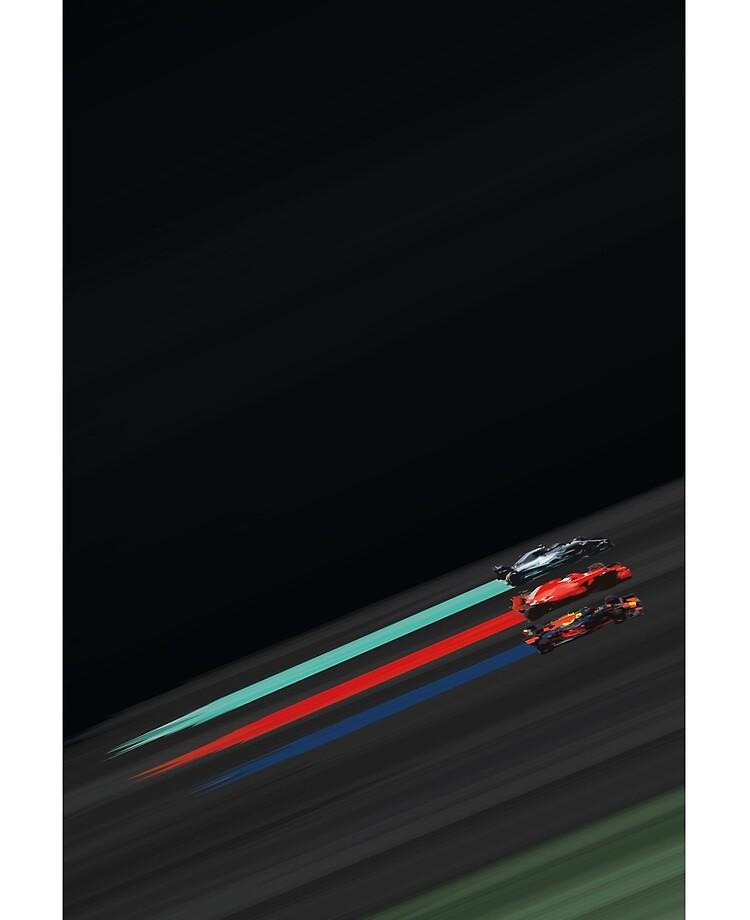 F1 Abstract Art Battle Of The Hybrid Era Ipad Case Skin By Broebuck Redbubble