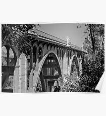 The Arroyo Seco Bridge. Poster