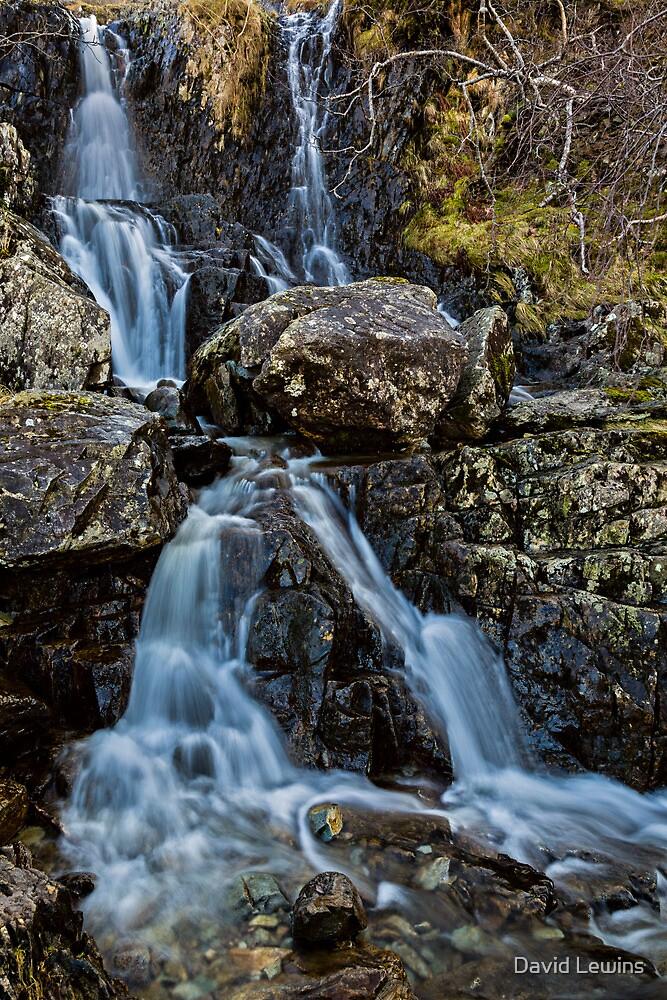Angle Tarn Falls by David Lewins