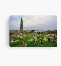 Ardmore Round Tower, County Waterford, Ireland Canvas Print