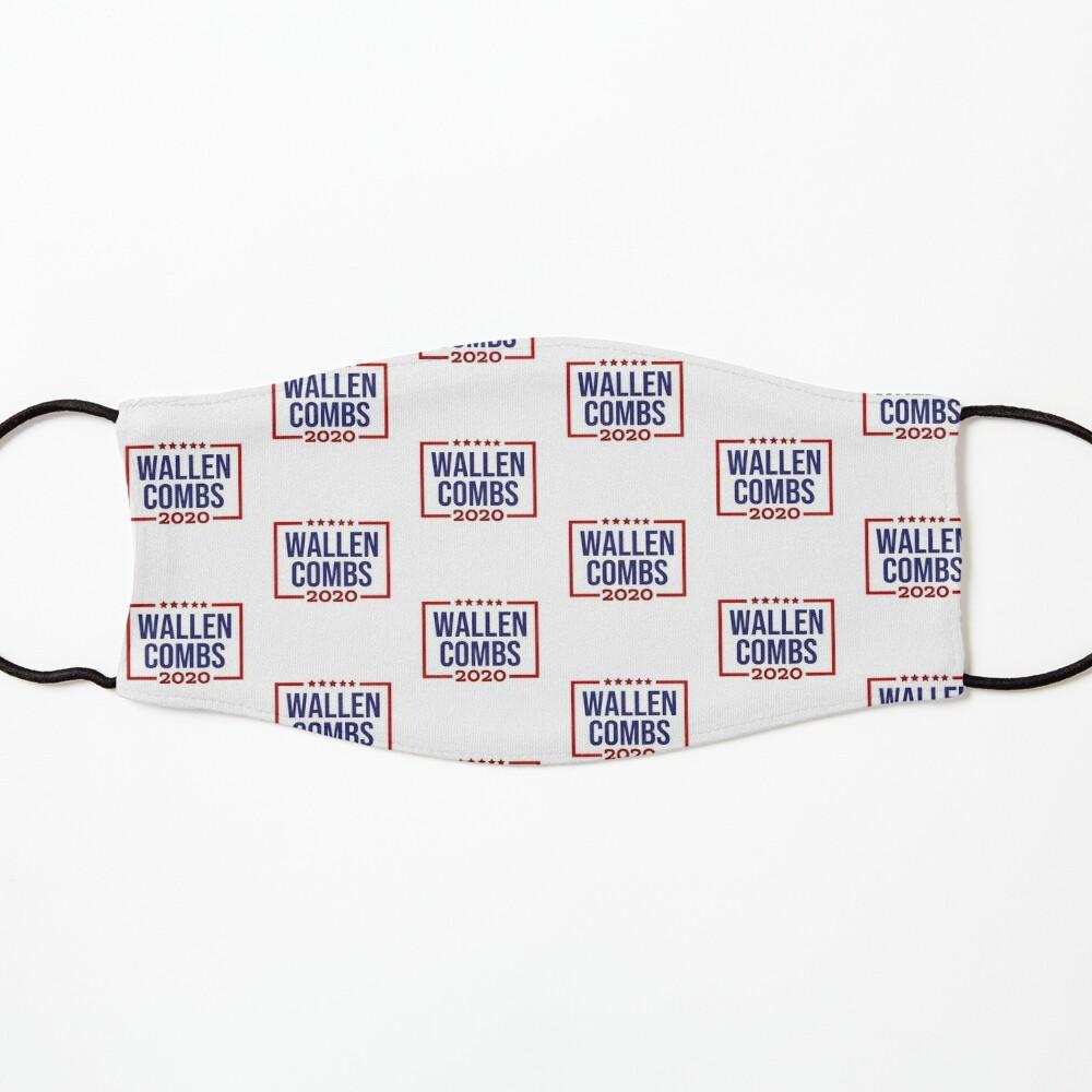 Wallen Combs 20 Mask By Goldenstudio Redbubble