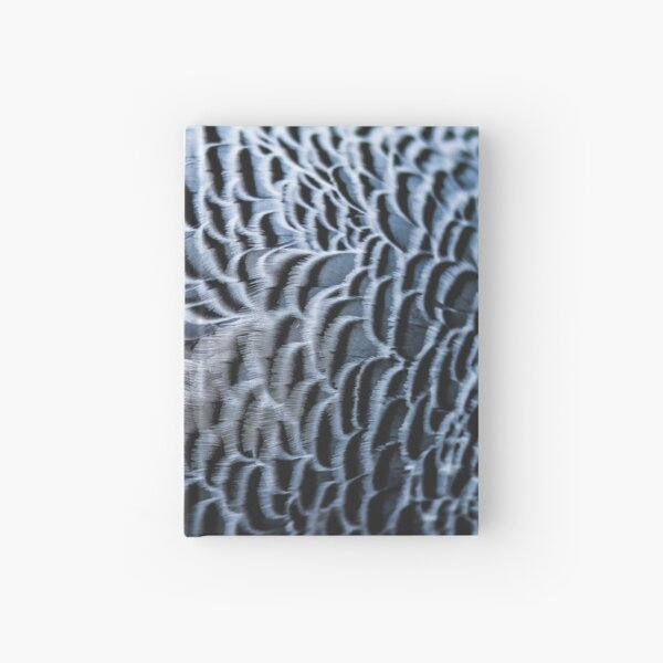 Feathers Hardcover Journal
